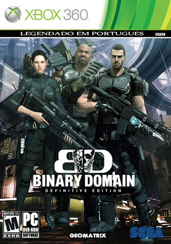 Binary Domain - Português (Xbox360)