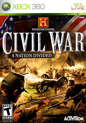 Civil War: A Nation Divided (Xbox360)