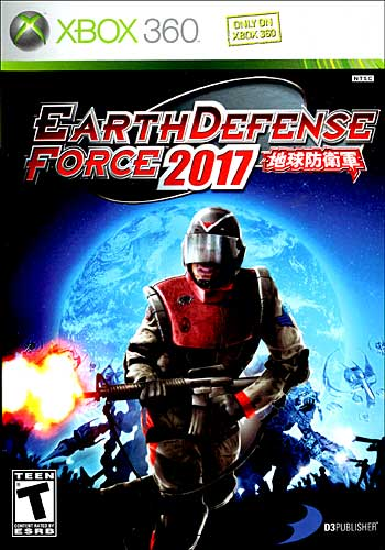 Earth Defense Force 2017 (Xbox360)