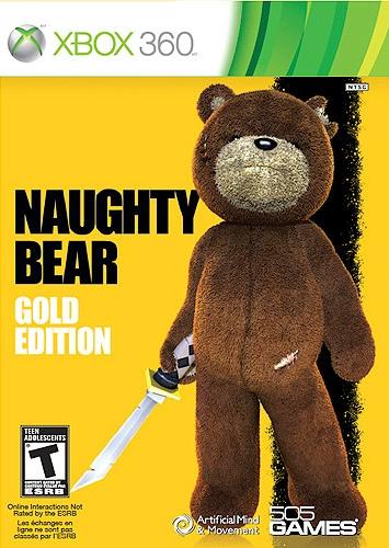 Naughty Bear Gold Edition (X-BOX360) 2010