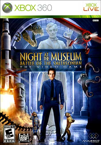 Night at the Museum: Battle of the Smithsonian (Xbox360)