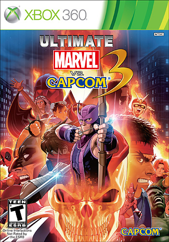 Ultimate Marvel vs. Capcom 3 (Xbox360)